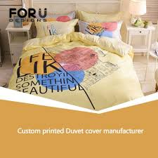 professional custom printed duvet cover manufacturer advanced