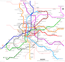 Metro Rail Dc Map by Urbanrail Net U003e Europe U003e Spain U003e Madrid Metro