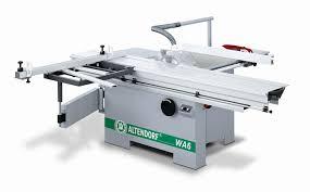 altendorf sliding table saw altendorf wa6 sliding table saw akhurst machinery