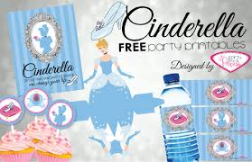 cinderella birthday party ideas free printables mommy