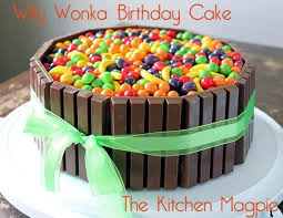 willy wonka birthday cake the kitchen magpie