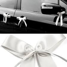 noeud de voiture mariage noeud papillon satin 25pcs decoration voiture mariage accessoire