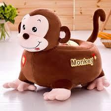 petit canapé pour enfant singe petit canapé pour enfants peluches pour enfants jouets en