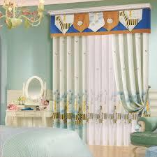 kid room curtains zebra patterns cotton no valance