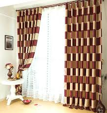 Gold Striped Curtains Gold And Burgundy Curtains Burgundy And Gold Curtains More