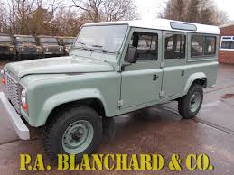 original land rover defender vehicles for sale