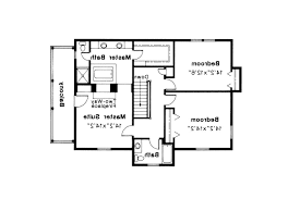 Georgian Colonial House Plans Colonial House Plan Rossford 42 006 2nd Floor Plan Colonial Floor