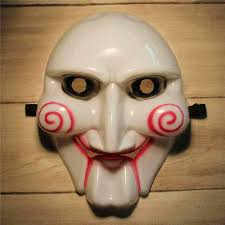 Creepy Masks Masquerade Masks Scary Saw Billy Volto Chainsaw Killer Full Face