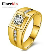 aliexpress buy fashion big size 18k gold plated men 2016 fashion big mariage vintage jewelry 18k gold plated silver