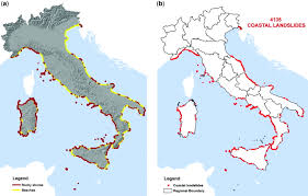 Map Of Puglia Italy by Landslides In Coastal Areas Of Italy Geological Society London