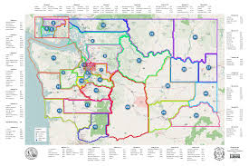 Wa State Map District Maps Of Jurisdiction Washington Masonic Library And Museum