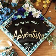my decorated graduation cap gradcap crafty inspiration