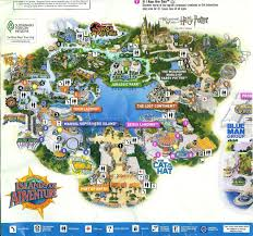 Orlando Area Map Florida by 2010 2 Park Universal Orlando Map Orlando Map And Universal Orlando
