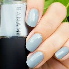 nail polish pale grey eyes hanami cosmetics