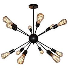 electro bp vintage metal large chandelier with 18 lights painted