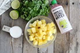 pineapple pineapple smoothie with cilantro recipe dr axe