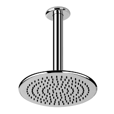 decoration ideas remarkable white square fixed shower head in