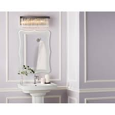 Kohler Bathroom Lights Kohleroom Lighting Rubbed Bronze Wall Sconces Bath Chrome New
