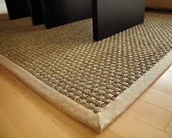 Bound Sisal Rug Natural Area Rugs