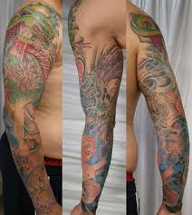 japanese arm sleeve ready by 2face tattoo on deviantart