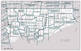 Road Map Of Canada by Large Detailed Road Map Of Toronto City Toronto Large Detailed