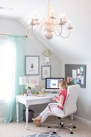 Home Office Curtains Ideas Chandelier Office Grey White Editonline Us