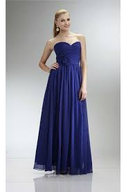 royal blue chiffon bridesmaid dresses empire waist royal blue chiffon bridesmaid dress with