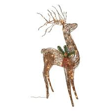 Outdoor Christmas Reindeer Decorations Lighted by 24 Best Decorative Art Images On Pinterest Deer Christmas