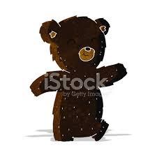 imagenes animadas oso oso negro de dibujos animados lindo stock vector freeimages com