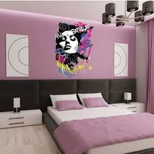 stickers pour chambre fille stickers muraux pour chambre adulte avec stickers muraux chambre ado