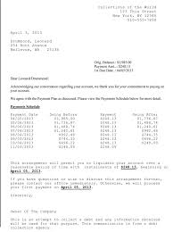 downloads promise payment letter