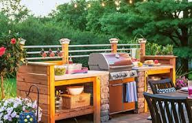 outdoor kitchen bbq kitchen decor design ideas