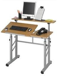 Desktop Drafting Table Industrial Tables Trays The Ergonomic Store