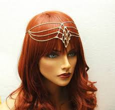 gold headpiece wedding boho headpiece bridal headband gold headpiece grecian