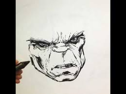 live drawing of the hulk youtube