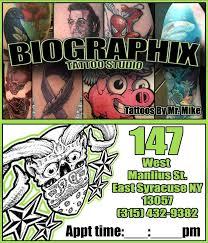 biographix tattoo studio home facebook
