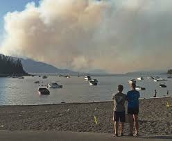 Alaska Wildfire Road Closures by South Entrance To Yellowstone Still Closed By Berry Fire