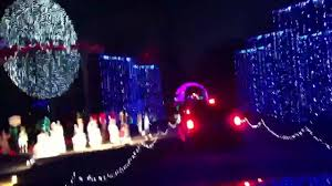 christmas lights in college station texas santa s wonderland college station tx youtube