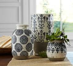 Planters U0026 Vases Shopping Online For Home Decor Decor Online by Decorative Vases U0026 Faux Flowers Pottery Barn