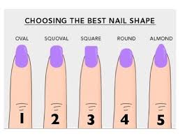 different type of nails how you can do it at home pictures