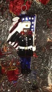 santa ornament marine corps santa