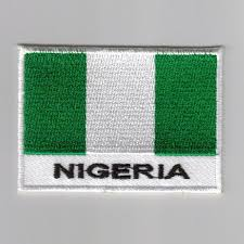Nigerian Flag Embroidered Patches Country Flag Nigeria Patches Iron On Badges
