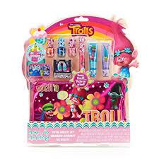 amazon com townley dreamworks trolls total beauty set for