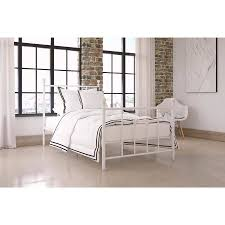 Walmart White Bed Frame New White Metal Bed Frame With Dhp Manila Sizes And