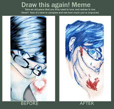 Meme D - before and after meme d by to ka ro on deviantart