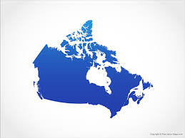 canadian map vector maps of canada free vector maps