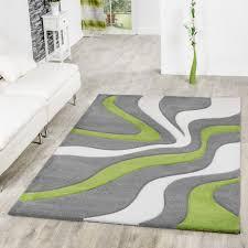 teppich für wohnzimmer teppich grau grün weiß wohnzimmer teppiche modern mit