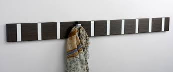 knax coat racks handcrafted hooks in wood or color denmark