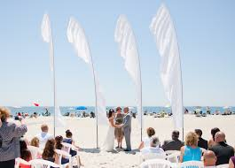 Cheap Feather Flags Sale Feather Flags Beach Wedding Decoration Cape May Wedding Our