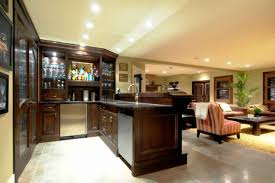 shine basement decorating ideas eclectic kitchen design with brown